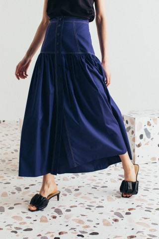 A-lined skirt