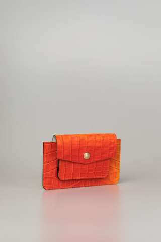 Leather  case with pattern