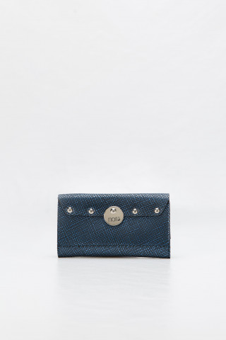 Navy blue leather case for mobile