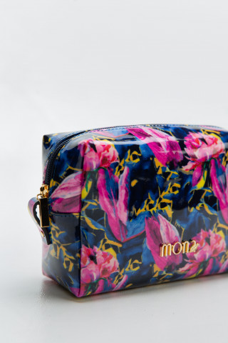 Floral cosmetic case
