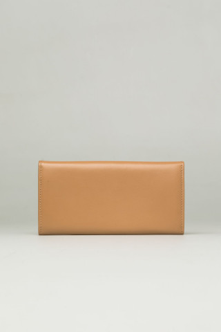 ELEGANT LEATHER WALLET IN CAPPUCCINO COLOR